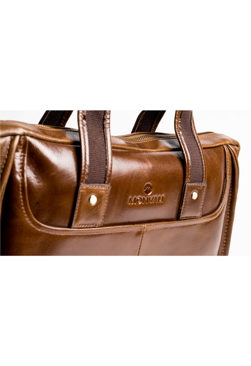 MONVALI Brifcase Weston Brown